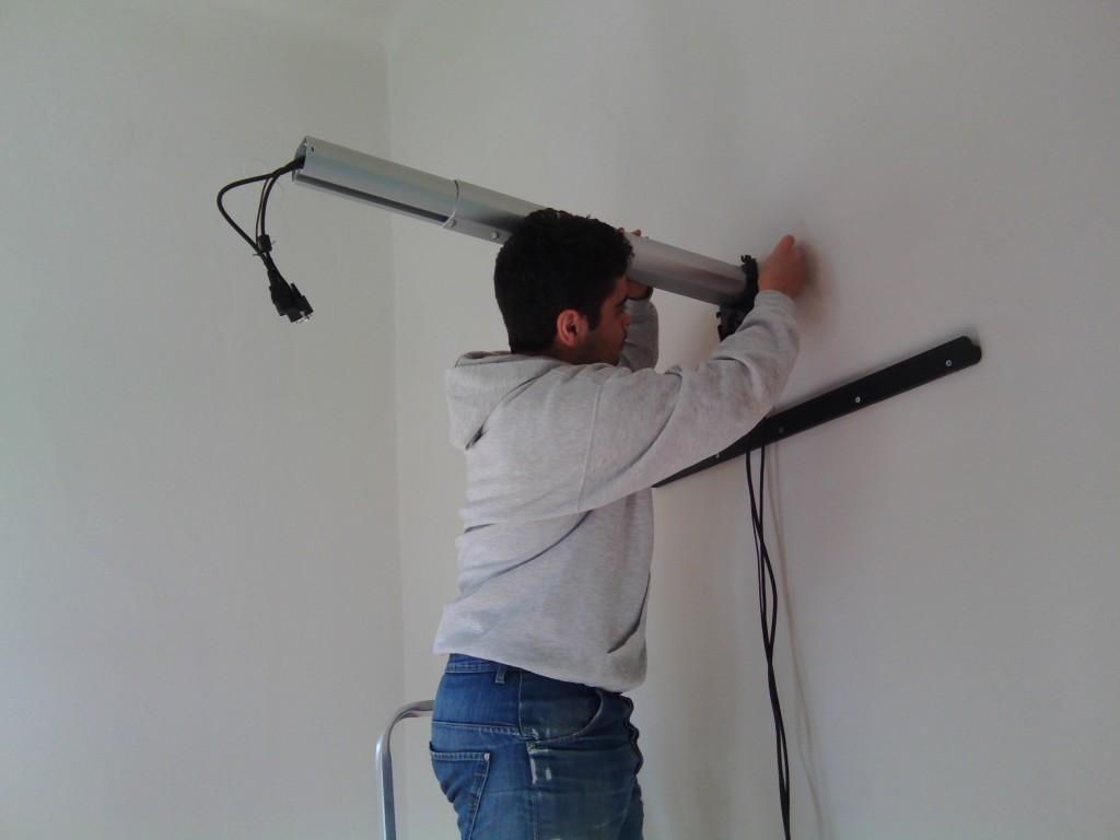 τεχνική εγκατάσταση διαδραστικού πίνακα